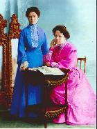 Ретро. 19 век. Так выглядели девушки Костромы.